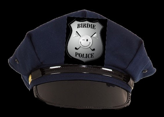 Casquette americaine birdie police 2