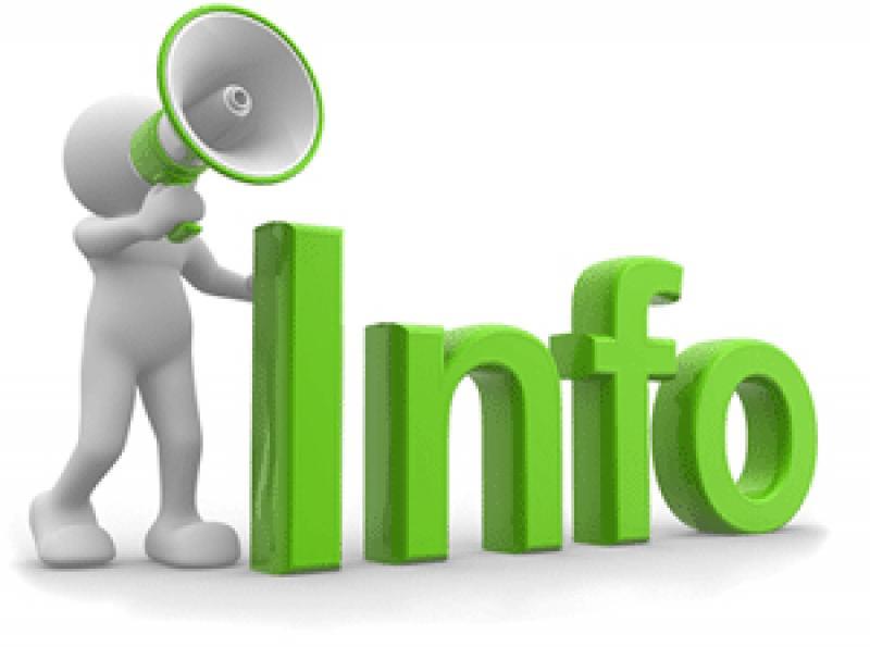 Info en vert