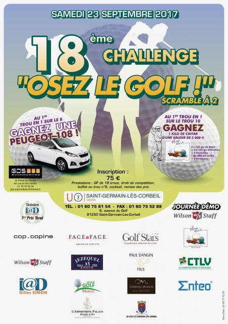 Osez le golf 2017